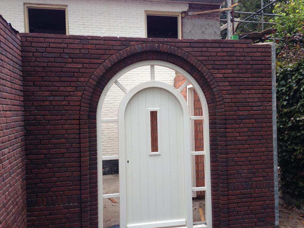 Kozijn en voordeur